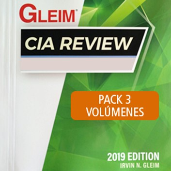 Gleim CIA Review 2019 Edition - Pack 3 Parts