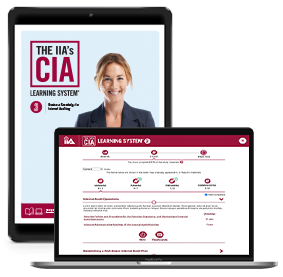 IIA CIA Learning System 7.0 P3 Online