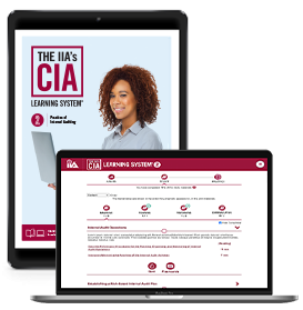 IIA CIA Learning System 7.0 P2 Online